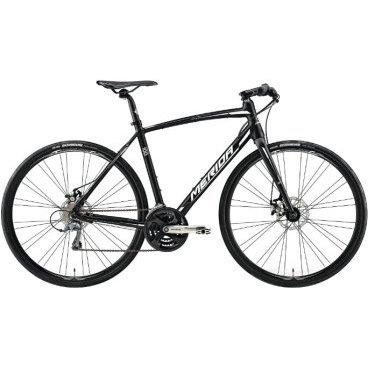 Шоссейный велосипед Merida Speeder 100 2017Шоссейные<br>Спортивный профессиональный велосипед Merida Speeder 100 предназначен для поездок на длинные дистанции по дороге и за ее пределами. Оснащен любительской трансмиссией для шоссейного велосипеда на 8 скоростей, прямым рулем как на горном велосипеде, диаметр колеса остается 700C, жесткая вилки без амортизатора и механические дисковые тормоза. Сделан из алюминиевого сплава<br>Основное<br>Модельный год2017<br>Применениешоссейный / гибридный /<br>Возрастная группавзрослый<br>Типмужской<br><br><br>Рама и амортизация<br><br>Материал рамыалюминий<br>Амортизациябез амортизации<br><br><br>Колеса и тормоза<br>Диаметр колес28 <br>Модель покрышекMaxxis Detonator 32<br>Материал ободаалюминий / Merida Comp 22 /<br>Обод двойной<br>Передний тормоздисковый механический / Promax MTD, ротор 160 мм /<br>Задний тормоздисковый механический / Promax MTD, ротор 160 мм /<br>Руль и трансмиссия<br>Скоростей24 шт<br>Звёзд системы3 / шатун: Shimano Altus M131, 48-38-28Т /<br>Звёзд кассеты8<br>Модель кассетыSunrace CS<br>Передний переключательShimano Altus / M191 /<br>Задний переключательShimano Claris<br>Тип манеткитриггерные<br>Модель манеткиShimano EZ<br>Форма руляпрямой<br>ВыносMerida Comp OS 6<br>Модель руляMerida Comp OS / длина - 600 мм /<br><br><br>Общее<br>Комплектациящиток на цепь<br>Модель сиденьяMerida Sport<br>Модель педалейXC Pro<br>Вес11.1 кг<br>