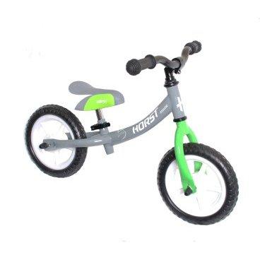 Беговел HORST MOUSE, рама - сталь, колеса 10, регулируемый руль/седло, серо-зеленый, 00-170630Беговелы для детей<br>Беговел детский HORST MOUSE<br> рама -  износостойкая сталь <br> колеса 10<br>регулируемый  руль/седло <br>серо-зеленый<br>