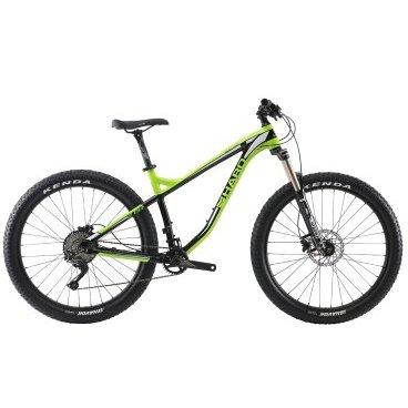 Горный велосипед Haro Subvert HT5 27.5 2017Горные (MTB)<br>Haro Subvert HT5 27.5 2017<br>Горный велосипед оснащенный алюминиевой рамой, амортизационной вилкой Suntour RAIDON 32 RLR DS-27.5 Plus, двойным ободом WTB Scraper i40 27.5?Plus и надежными дисковыми тормозами Shimano BR-M395. Подходит для активной езды по различным дорогам и пересеченной местности <br><br><br><br><br><br>Общие характеристики<br><br><br><br>Модель<br><br>2017 года<br><br><br><br>Тип<br><br>для взрослых<br><br><br><br>Область применения<br><br>Горный<br><br><br><br>Рама, вилка<br><br><br><br>Наименование рамы<br><br>6061-T6 Series alloy Hardtail Рама, 27.5? Plus / 29? geometry, Tapered 1.5? head tube, 73mm BB shell, 12x148mm Boost Thru-Axle dropouts<br><br><br><br>Материал рамы<br><br>Алюминий<br><br><br><br>Размеры рамы<br><br>18<br><br><br><br>Амортизация<br><br>Hard tail (с амортизационной вилкой)<br><br><br><br>Вилка<br><br>Suntour RAIDON 32 RLR DS-27.5 Plus<br><br><br><br>Конструкция вилки<br><br>воздушная<br><br><br><br>Ход вилки<br><br>120 мм<br><br><br><br>Диаметр трубы вилки<br><br> 1 1/8-1 1/2<br><br><br><br>Колеса<br><br><br><br>Диаметр колес<br><br>27.5 дюймов<br><br><br><br>Обода<br><br>WTB Scraper i40 27.5?Plus<br><br><br><br>Материал изготовления<br><br>сплав алюминия<br><br><br><br>Наименование покрышек<br><br>Kenda Havoc 27.5?3.0?<br><br><br><br>Торможение<br><br><br><br>Наименование тормоза<br><br>Shimano BR-M395 Hydraulic<br><br><br><br>Тип тормоза<br><br>дисковый гидравлический<br><br><br><br>Шифтеры(манетки)<br><br>Shimano SLX, SL-M7000, 1x11-Spd<br><br><br><br>Трансмиссия<br><br><br><br>Количество скоростей<br><br>11<br><br><br><br>Наименование заднего переключателя<br><br>SShimano SLX, RD-M7000, SGS 10/11-spd<br><br><br><br>Система<br><br>FSA Comet Modular MegaExo Boost, 30t Megatooth Crmo Chainring<br><br><br><br>Количество звезд<br><br>1<br><br><br><br>Кассета<br><br>Shimano CS-M7000, 11-42t, 11-Spd<br><br><br><br>Количество звезд в кассете<br><br>11<br><br><br><br>Цеп
