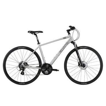 Гибридный велосипед Haro Westlake 28 2017Гибридные<br>Haro Westlake 28 2017<br>Надежный железный друг , который не боится долгих нагрузок и еще не раз заставит вас улыбнуться. Перед вами Haro Westlake. Данная модель оснащена современными компонентами что делает ее вполне конкурентоспособной  среди гибридов любительского класса. Хороший диаметр колес 28 дюймов обеспечит вам отличный накат, а узкие покрышки с гладким протектором сведут к минимуму сопротивление , благодаря чему вы сможете стремительно преодолевать большие расстояния. Также, этот байк оборудован дисковыми гидравлическими тормозами, делающими управление более интуитивным, а поездку более безопасной. <br><br><br><br><br><br>Общие характеристики<br><br><br><br>Модель<br><br>2017 года<br><br><br><br>Тип<br><br>для взрослых<br><br><br><br>Область применения<br><br>Горный гибрид<br><br><br><br>Рама, вилка<br><br><br><br>Наименование рамы<br><br>Haro Solum 6061 Alloy<br><br><br><br>Материал рамы<br><br>Алюминий<br><br><br><br>Размеры рамы<br><br>19<br><br><br><br>Амортизация<br><br>Hard tail (с амортизационной вилкой)<br><br><br><br>Вилка<br><br>SR Suntour NEX HLO<br><br><br><br>Конструкция вилки<br><br>воздушно масляная/td&gt;<br><br><br><br>Ход вилки<br><br>63 мм<br><br><br><br>Диаметр трубы вилки<br><br> 1 1/8<br><br><br><br>Колеса<br><br><br><br>Диаметр колес<br><br>28 дюймов<br><br><br><br>Обода<br><br>Alex DC-26 700c Alloy DW 32h Rims<br><br><br><br>Материал изготовления<br><br>сплав алюминия<br><br><br><br>Наименование покрышек<br><br>Kenda Kwick Bitumen 700 x 38c<br><br><br><br>Торможение<br><br><br><br>Наименование тормоза<br><br>Shimano BR-M315 Hydraulic<br><br><br><br>Тип тормоза<br><br>дисковый гидравлический<br><br><br><br>Шифтеры(манетки)<br><br>Shimano SL-M310 3x8-Spd<br><br><br><br>Трансмиссия<br><br><br><br>Количество скоростей<br><br>24<br><br><br><br>Наименование заднего переключателя<br><br>Shimano Altus M310<br><br><br><br>Наименование переднего переключателя<br><br>Shimano Altus M191<br><