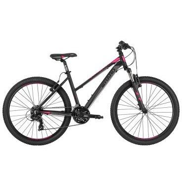 Женский велосипед Haro Flightline One ST 26 2017Женские<br>Haro Flightline One ST 26 2017<br>Женский горный велосипед, который понравится активным и современным девушкам. Модель  Haro Flightline One ST имеет легкую алюминиевую раму и навесное оборудование начального уровня. Велосипед отлично подойдет на роль универсального велосипеда, который можно использовать в городе или отвезти к бабушке в деревню.  Байк имеет 21 скоростную трансмиссию и два надежных ободных тормоза. Геометрия велосипеда позволяет использовать его для катания по различным типам поверхностей.<br><br><br><br><br><br>Общие характеристики<br><br><br><br>Модель<br><br>2017 года<br><br><br><br>Тип<br><br>для женщин<br><br><br><br>Область применения<br><br>горный, городской<br><br><br><br>Рама, вилка<br><br><br><br>Наименование рамы<br><br>Haro Flightline FL3 G 6000 Series Alloy <br><br><br><br>Материал рамы<br><br>Алюминий<br><br><br><br>Размеры рамы<br><br>14<br><br><br><br>Вилка<br><br>HL CH-389<br><br><br><br><br>Ход вилки<br><br>80 мм<br><br><br><br>Диаметр трубы вилки<br><br> 1 1/8<br><br><br><br>Колеса<br><br><br><br>Обод<br><br>XD-180 <br><br><br><br>Диаметр колес<br><br>26 дюймов<br><br><br><br>Наименование покрышек<br><br>H-5120 26x2.10 <br><br><br><br>Торможение<br><br><br><br>Тип тормоза<br><br>ободной (V-brack)<br><br><br><br>Тормоз<br><br>Promax TX-121<br><br><br><br>Шифтеры<br><br>Shimano EF-41 3x7-Spd <br><br><br>Трансмиссия<br><br><br><br>Количество скоростей<br><br>21<br><br><br><br>Система<br><br>SR Suntour XCC-T102 42/34/24t <br><br><br><br>Количество звезд<br><br>3<br><br><br><br>Кассета<br><br>Shimano HG-200 7-Spd Cassette 12-32t <br><br><br><br>Задний переключатель<br><br>Shimano Tourney TY-300 <br><br><br><br>Передний переключатель<br><br>Shimano Tourney TY-500<br><br><br>Цепь<br><br> KMC Z51, 1/2? X 3/32 <br><br><br><br>Руль<br><br><br>Рулевая колонка<br><br>1-1/8 Threadless Steel Cups, Loose Ball, Nylon Top<br><br><br>Вынос<br><br>ivit Alloy, 31.8mm<br><br><br>Грипсы<br><br>Ha