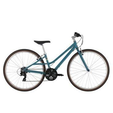 Женский велосипед Haro Projekt ST 21 2017Женские<br>Haro Projekt ST 2017<br>Городской фитнесс велосипед с жетской вилкой и оборудованием начального уровня. Очень удобен для перемещений по городским улицам и велопрогулок в парках.<br><br><br><br><br><br>Общие характеристики<br><br><br><br>Модель<br><br>2017 года<br><br><br><br>Тип<br><br>для женщин<br><br><br><br>Область применения<br><br>городской<br><br><br><br>Рама, вилка<br><br><br><br>Наименование рамы<br>D-Street 6061 Alloy<br><br><br><br><br>Материал рамы<br><br>Алюминий<br><br><br><br>Размеры рамы<br><br>17<br><br><br><br>Вилка<br><br>Rigid Hi-Ten<br><br><br><br>Колеса<br><br><br><br>Обод<br><br>DH-18 Alloy Double Wall Rims<br><br><br><br>Диаметр колес<br><br>21 дюймов<br><br><br><br>Покрышки<br><br>700 X 35c <br><br><br><br>Торможение<br><br><br><br>Тип тормоза<br><br>ободной (V-brack)<br><br><br><br>Тормоз<br><br>Alloy Linear Pull<br><br><br><br>Шифтеры<br><br>Shimano EF41<br><br><br>Трансмиссия<br><br><br><br>Количество скоростей<br><br>21<br><br><br><br>Система<br><br>Shimano TY301 48/38/28t<br><br><br><br>Количество звезд<br><br>3<br><br><br><br>Кассета<br><br>Shimano HG-20 12-32t<br><br><br><br>Задний переключатель<br><br>Shimano Tourney TY300D<br><br><br><br>Передний переключатель<br><br>Shimano Tourney TY500<br>