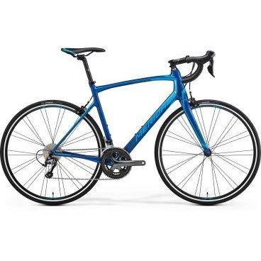 Шоссейный велосипед  Merida Ride 3000 2017Шоссейные<br>Шоссейный велосипед продвинутого уровня с оборудованием предпрофессионального класса Shimano, 20 скоростей. Технические особенности: карбоновая рама Ride CF2 BSA, жесткая вилка Road Carbon Race, двойные обода Merida comp SL, надежные ободные тормоза Merida Road Pro. Подходит для быстрой спортивной езды по шоссе. Диаметр колес - 28 дюймов. Вес - 8,77 кг.<br>Основное<br>Модельный год2017<br>Применениешоссейный<br>Возрастная группавзрослый<br>Типмужской<br><br><br>Рама и амортизация<br><br>Материал рамыкарбон<br>Амортизациябез амортизации<br><br><br>Колеса и тормоза<br>Диаметр колес28 <br>Модель покрышекMaxxis Detonator<br>Материал ободаалюминий / Merida Comp SL 24 /<br>Ободдвойной<br>Передний тормозободной механический (клещевой) / Merida Road Pro /<br>Задний тормозободной механический (клещевой) / Merida Road Pro /<br>Руль и трансмиссия<br>Скоростей20 шт<br>Звёзд системы2 / шатун: Shimano Tiagra, 50-34Т /<br>Звёзд кассеты10<br>Модель кассетыShimano Tiagra / HG500 /<br>Передний переключательShimano Tiagra<br>Задний переключательShimano Tiagra<br>Тип манеткиdual control<br>Модель манеткиShimano Tiagra<br>Форма руляшоссейный<br>ВыносMerida Expert Carbon OS 5<br>Модель руляMerida Expert Compact Road OS<br><br><br>Общее<br>Модель сиденьяMerida Race<br>Модель цепиKMC X10<br>Вес8.8 кг<br>