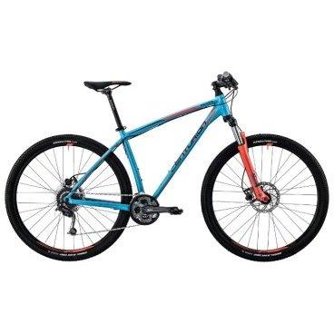Горный велосипед Centurion Backfire PRO 100.27 2017Горные (MTB)<br>Яркая стильная модель велосипеда Centurion BACKFIRE PRO 100.27 поможет покорить новые маршруты и сделает ваш отдых незабываемым! Легкая и управляемая модель, благодаря алюминиевой раме Backfire Pro D 27.5 и амортизационной вилке SR Suntour XCM. Дисковые гидравлические тормоза TEKTRO Auriga HD-M285, считающиеся одними из наиболее надежных, сработают при любых погодных условиях и придадут уверенности на любом маршруте. Покрышки Kenda Small Block Eight подходят для езды по дорогам с самым различным покрытием, а также отлично себя ведут и на бездорожье, обеспечивая идеальное сцепление.<br><br>Основное<br>Модельный год 2017<br>Применение горный (MTB)<br>горный (кросс-кантри)<br>Возрастная группа взрослый<br>Тип мужской<br><br><br>Рама и амортизация<br><br>Материал рамы алюминий<br>Амортизация передняя вилка<br>Тип амортизации (вилка) пружинно-масляная / SR Suntour XCM HLO /<br>Ход вилки 100 мм<br>Локаут вилки  / гидравлический /<br><br><br>Колеса и тормоза<br>Диаметр колес 27.5 <br>Модель покрышек Kenda Small Block Eight / 2.1 /<br>Материал обода алюминий / Alex MPD-14 /<br>Обод двойной<br>Передний тормоз дисковый гидравлический / Tektro Auriga M285, ротор 180 мм /<br>Задний тормоз дисковый гидравлический / Tektro Auriga M285, ротор 160 мм /<br>Руль и трансмиссия<br>Скоростей 27 шт<br>Звёзд системы 3 / шатун: Shimano Alivio, 40-30-22Т /<br>Звёзд кассеты 9<br>Модель кассеты Shimano Alivio / HG200 /<br>Модель каретки Shimano ES300<br>Передний переключатель Shimano Acera<br>Задний переключатель Shimano Deore<br>Тип манетки триггерные<br>Модель манетки Shimano Altus<br>Форма руля прямой<br>Вынос Procraft AL<br>Модель руля Procraft Riser / длина - 710 мм, диаметр - 31.8 мм /<br><br><br>Общее<br>Комплектация щиток на цепь<br>Модель сиденья Procraft Sport<br>Модель педалей VP-992A<br>Модель цепи KMC X9<br>Вес 14.2 кг<br>