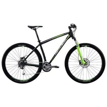 Горный велосипед Centurion Backfire PRO 200.27 2017Горные (MTB)<br>Превосходно управляемая стильная модель мужского горного велосипеда Centurion Backfire Pro 200.27 обладает малым весом и отличной динамикой. Велосипед оборудован легкой рамой из алюминиевого сплава CENTURION BACKFIRE pro D 27.5. Пружинно-эластомерная вилка SR SUNTOUR XCM 100 LOCKOUT обеспечивает отличную амортизацию и снижает нагрузку при езде по бездорожью. Покрышки KENDA SMALL BLOCK EIGHT обладают хорошим сцеплением с гладким асфальтом, грунтом, травой. Дисковые гидравлические тормоза SHIMANO BR-M315 являются одними из самых лучших в своем классе и обеспечат надежное торможение при любых условиях.<br>Основное<br>Модельный год2017<br>Применениегорный (MTB)<br>горный (кросс-кантри)<br>Возрастная группавзрослый<br>Типмужской<br><br><br>Рама и амортизация<br><br>Материал рамыалюминий<br>Амортизацияпередняя вилка<br>Тип амортизации (вилка)пружинно-масляная / SR Suntour XCM HLO /<br>Ход вилки100 мм<br>Локаут вилки / гидравлический /<br><br><br>Колеса и тормоза<br>Диаметр колес27.5 <br>Модель покрышекKenda Small Block Eight / 2.1 /<br>Материал ободаалюминий / Alex MPD-14 /<br>Ободдвойной<br>Передний тормоздисковый гидравлический / Shimano M315, ротор 180 мм /<br>Задний тормоздисковый гидравлический / Shimano M315, ротор 160 мм /<br>Руль и трансмиссия<br>Скоростей27 шт<br>Звёзд системы3 / шатун: Shimano Alivio, 40-30-22Т /<br>Звёзд кассеты9<br>Модель кассетыShimano Alivio / HG200 /<br>Модель кареткиShimano SM-52<br>Передний переключательShimano Acera<br>Задний переключательShimano Deore XT<br>Тип манеткитриггерные<br>Модель манеткиShimano Alivio<br>Форма руляпрямой<br>ВыносProcraft AL<br>Модель руляProcraft Riser / длина - 710 мм, диаметр - 31.8 мм /<br><br><br>Общее<br>Комплектациящиток на цепь<br>Модель сиденьяProcraft Sport<br>Модель педалейVP-992A<br>Модель цепиKMC X9<br>Вес13.8 кг<br>