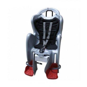 Детское велокресло BELLELLI Mr Fox Relax B-Fix на подсидельную трубу, cеребристое, 01FXRB0007Детское велокресло<br>BELLELLI Сидение заднее Mr Fox Relax B-Fix, cеребристое с черной вставкой, до 22кг<br>Крепление - На подседельную трубу<br>Ремни безопасности - С 3-точечными ремнями<br>Спинка - С регулируемым углом наклона спинки<br>С регулируемой по высоте спинкой<br>Максимальный вес ребенка - 22 кг<br>Дополнительно - Подножки Амортизация Положение отдыха/сна Съемная подкладка<br>Возраст ребенка - до 7 лет<br>Цвет - серебристый/черный<br>Размер колес -  25-36<br>Диаметр трубы крепления - 38-46<br>