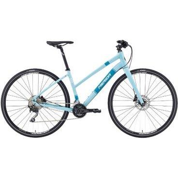 Горный велосипед Merida Crossway URBAN 500-Lady 2016Городские<br>ВЕЛОСИПЕД MERIDA CROSSWAY URBAN 500-LADY (2016) – это надежный спортивный велобайк, разработанный специально для прекрасного пола, о чем символично напоминает слегка опущенная планка рамы. Модель имеет незначительный вес за счет использования в конструкции рамы современного материала. Велосипед оснащен современной тормозной системой, которая представлена гидравлическими дисковыми тормозами, а также имеет 20 режимов переключения скоростей. Седло отличается удобством, имеет универсальную конструкцию, благодаря этому Вы будете ощущать чрезвычайный комфорт во время движения.<br><br>Основное<br>Модельный год2016<br>Применениефитнес<br>Возрастная группавзрослый<br>Типженский<br><br><br>Рама и амортизация<br><br>Материал рамыалюминий<br>Амортизациябез амортизации<br><br><br>Колеса и тормоза<br>Диаметр колес28 <br>Модель покрышекMaxxis Overdrive 35<br>Материал ободаалюминий / Merida Comp Pro D /<br>Ободдвойной<br>Передний тормоздисковый гидравлический / Shimano M355, ротор 160 мм /<br>Задний тормоздисковый гидравлический / Shimano M355, ротор 160 мм /<br>Модель передней втулкиCenterlock-15<br>Модель задней втулкиCenterlock-15<br>Руль и трансмиссия<br>Скоростей20 шт<br>Звёзд системы2 / шатун: Shimano M627, 38-24Т /<br>Звёзд кассеты10<br>Модель кассетыShimano Deore / HG500 /<br>Передний переключательShimano Deore<br>Задний переключательShimano Deore<br>Тип манеткитриггерные<br>Модель манеткиShimano Deore<br>Форма руляпрямой<br>ВыносMerida Pro OS<br>Модель руляMerida Comp / длина - 660 мм /<br><br><br>Общее<br>Модель сиденьяCrossway Comfort Pro<br>Модель цепиKMC X10<br>Вес10.9 кг<br>