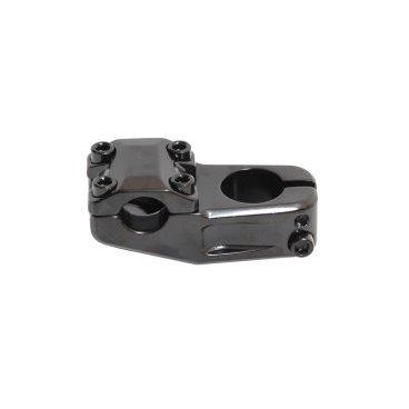 Вынос PRO ITC-XB875, BMX, внешний, нерегулируемый, 1 1/8, 50/30 мм, на руль 22,2 мм, 6-150875Выносы<br>Внешний, алюминиевый, нерегулируемый (0°), для руля ?22,2мм, вынос 50мм, черный<br>