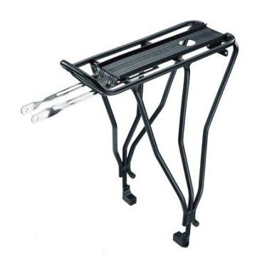 Велобагажник BabySeat Rack TOPEAK, 26 колёса с дисковыми тормозами, для детского кресла, TCS2017Багажники для велосипеда<br>Прочный, надежный и легкий алюминиевый багажник для велосипедов с колесами 26, 27.5 дюймов и 700С, укомплектованных дисковыми тормозами. Полые алюминиевые трубки, классическая конструкция, полная совместимость с аксессуарами MTX QuickTrack™ и Topeak MTX TrunkBag. Возможность интеграции фонарей освещения. Багажник разработан для крепления сиденья BabySeat™ без использования инструментов.<br><br>Совместим с колесами 26, 27.5 дюймов и 700С и дисковыми тормозами.<br><br>ДополнительноОдновременно служит крылом<br>Вес товара668 гр<br><br>Размеры (грипсы): 34 x 23 x 42.5 cm<br>Макс. вес (багажник):25 кг<br>Материал:Пластик, Алюминий<br>Размер колес:26<br>Тип тормозов:Дисковые<br>Совместимость:MTX QuickTrack™<br>MTX TrunkBags<br>BabySeat™<br>Крепления RedLite и Tail Light<br>