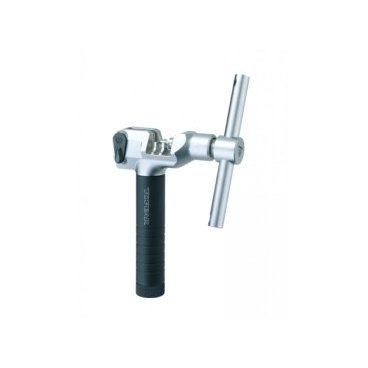Выжимка цепи Topeak All Speed Chain Tool, универсальная, до 12 скоростей, TPS-SP48Велоинструменты<br>Выжимка цепи универсальная Topeak All Speed Chain Tool для любых цепей (до 12 скор)<br>Профессиональная выжимка для всех типов цепей, включая Campagnolo на 12 скоростей с полыми осями<br>Размер: 8.6 х 2.8 х 12.8 см<br>Вес: 314г<br>