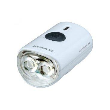 Передний габаритный фонарь с зарядкой TOPEAK WhiteLite Mini USB, белый, TMS079WФары и фонари для велосипеда<br>Передний габаритный фонарь с зарядкой от USB (пластик)<br>