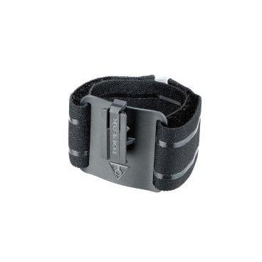 Ремень на руку для ношения телефона Topeak RideCase Armband, черный, TC1027Велосумки<br>Специально разработанный для серии RideCase, RideCase ArmBand удобно держит ваш смартфон и идеально подходит для занятий в помещении и на свежем воздухе. Широкая медицинская эластичная лента и силиконовая ручка обеспечивают дополнительный комфорт и безопасность, а отражающая подсветка 3M добавляет безопасности в условиях низкой освещенности.<br><br>Материал: Elastic band &amp; engineering grade plastic<br>Совместимость: RideCase &amp; SmartPhone DryBag series<br>Размер руки: 17-45 cm<br>Размер: 11.2 x 6.8 cm<br>Вес: 40 гр<br>