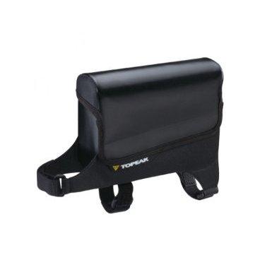 Велосумка TOPEAK Tri DryBag water proof Dry Bag, водонепроницаемая, на верхнюю трубу рамы, TC9852BВелосумки<br>Велосумка Topeak Tri DryBag, водонепроницаемая. Tri DryBag легко и быстро устанавливается на верхнюю трубу рамы Вашего велосипеда для простого и быстрого доступа к самым необходимым вещам, которые должны быть всегда под рукой. Сконструирована из полужестких панелей с защитой от влаги, оставит Ваши вещи сухими и в безопасности.<br><br>Материалы: Нейлон 420 Denier и 840 Denier, водонепроницаемая ткань, ультразвуковые швы<br>Защита: Полужесткие панели главного отделения<br>Крепление: Нейлоновые ремешки<br>Объем: 0,6 литра<br>Диаметр рулевого стакана: ?34 - ?75 мм<br>Диаметр верхней трубы рамы: ?38 - ?52 мм<br>Размеры (Д x Ш x В): 14.5 x 4.7 x 12.8 см<br>Вес: 65 г<br>