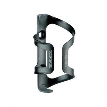 Флягодержатель TOPEAK DualSide Cage Plastic base Aluminum Cage, двухсторнний, алюминий, TDSC01-BФляги и Флягодержатели<br>Флягодержатель Topeak DualSide Cage изготовлен из облегченного алюминиевого сплава и разработан специально для рам маленьких размеров. Также конструкция флягодержателя предусматривает возможность изменения стороны (слева или справа), через которую фляга в него вставляется/вынимается. Флягодержатель не имеет сварных швов, что снижает вес и значительно повышает его надежность.<br><br>Материал: алюминий.<br>Вес: 44 г.<br>Цвет: черный.<br>