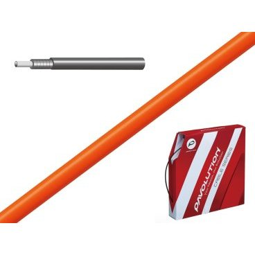Рубашка троса тормоза ALHONGA, 5мм со смазкой, 30м, в коробке, оранжевый, SSK413-2PТросики и Рубашки<br>ALHONGA Рубашка троса тормоза 5мм со смазкой, 30м, в коробке. Цвет: NEON ORANGE<br>