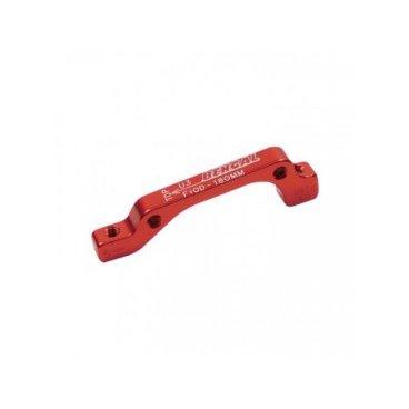 Адаптер BENGAL ADU3 дискового тормоза IS, 180мм, передний, красный, ADU5Тормоза на велосипед<br>BENGAL Адаптер ADU3 дискового тормоза IS 180мм передний<br>