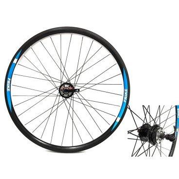 Колесо переднее FRIKE 26, 32 спицы, под дисковый тормоз, двойной обод, стальная втулка, эксцетрикКолеса для велосипеда<br>Колесо переднее FRIKE 26<br>32 спицы<br>Под дисковый тормоз<br>Двойной алюминиевый обод<br>Стальная втулка<br>С эксцентриком<br>