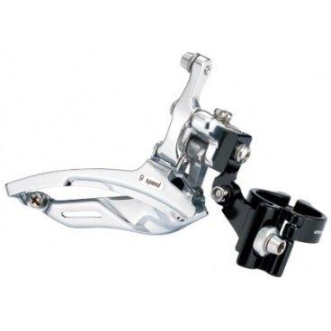 Крепление переднего переключателя COLOURY, регулируемый угол, алюминий CNC, D:31.8, MT-87AFBПереключатели скоростей на велосипед<br>Крепление переднего переключателя, регулируемый угол, алюминий CNC, D:31,8<br>