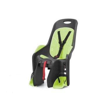 Сиденье детское AUTHOR Bubbly Maxi CFS на багажник, серо-зеленое до 22 кг, (Португалия), 8-16240259Детское велокресло<br>Детское велокресло Author Bubbly Maxi CFS на багажник серо-зеленое до 22кг <br>Особенно стоит выделить эргономичню форму кресла - теперь использование шлема стало гораздо проще и удобнее.<br> Сиденье оснащено системой 3х точечных ремней безопасности,которые надёжно зафиксируют вашего ребенка, защитой и удерживающими устройствами для ног с 4 позицями регулировки подножек.<br> Кресло полностью соответствует евростандарту безопасности EN 14344.<br> Рекомендуемый вес ребенка 9-22кг, возраст 1-7 лет.<br> Технические характеристики:<br> Быстрая и удобная установка<br> Надёжные ремни с системой 3х точечного контактирования<br> Диаметр подседельной трубы 28-40 мм. <br> Небольшой вес кресла - всего 5 кг; объем 0,0840.<br> Размер сиденья w.412 х h.667 х d.574mm.<br> Цвет : серо-зеленый<br> Страна производитель: Португалия<br> Весь необходимый крепёж поставляется в комплекте.<br>