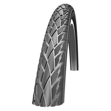 Велопокрышка Schwalbe Road Cruiser, 20x1.75(47-406), защита от проколов, черный, 11116377Велопокрышки<br>?Гораздо больше, чем просто качество. Главной характеристикой всех покрышек линейки Active Line является каркас плотностью 50 EPI. Каркасы плотностью 20 и 24 EPI больше не используются в диапазоне продуктов Schwalbe. Каркасы более плотного плетения 50 EPI намного надeжнее и являются более устойчивым к проколам. В то же время материалу требуется меньше резинового покрытия, следовательно уменьшается его вес. И конечно же, все покрышки Active Line имеют слой защиты от проколов, сбалансированный компаунд, а также функциональный и привлекательный протектор. Попросту говоря, Active Line - это гарантированное качество бренда!<br><br>Характеристики:<br><br>Размер: 20x1.75(47-406)<br>Назначение: для туризма<br>Давление: 30-65 Psi<br>Вес: 545 г<br>Цвет: черный<br>