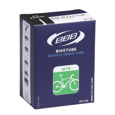 Камера BBB, 29x1.9/2.3, спортниппель, BTI-89SКамеры для велосипеда<br>Для горных велосипедов.<br><br>SuperLite<br><br>Размер: 29.<br><br>ETRTO: 50/56 - 622.<br><br>Inch: 29 x 1.9/2.3.<br><br>Доступны ниппели: FV 48.<br>