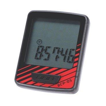 Компьютер BBB DashBoard 7 functions проводной черный/красный, BCP-05Велокомпьютеры<br>Велокомпьютер DashBoard стал, в своем роде, образцом для подражания. Появившись в линейке в 2006 году как простой и небольшой велокомпьютер с большим и легкочитаемым экраном, он эволюционировал в любимый прибор велосипедистов, которым нужна простая в использовании вещь без тысячи лишних функций. Когда пришло время обновить DashBoard, мы поставили во главу угла именно простоту дизайна и использования, в то же время, выведя оба этих параметра на новый уровень. Общий размер велокомпьютера уменьшился за счет верхней части корпуса. Но сам размер экрана остался без изменений - 32 на 32мм, позволяющие легко считывать информацию. Управление одной кнопкой также было сохранено в новой версии. Упрощение конструкции осзначает также меньшее количество швов и лучшую влагозащиту. Так что, DashBoard стал лучше, но остался тем же самым верным другом и помочником, что и был.<br><br>Особенности:<br><br>- Проводной компьютер с 7 функциями:<br>- Текущая скорость<br>- Расстояние поездки<br>- Одометр<br>- Часы<br>- Автоматический переход функций<br>- Авто старт/стоп<br>- Индикатор низкого заряда батареи<br>- Легко читаемый полноразмерный дисплей.<br>- Удобное управление с помощью одной кнопки.<br>- Компьютер может быть установлен на руле и выносе.<br>- Водонепроницаемый корпус.<br>- Батарейка в комплекте.<br>