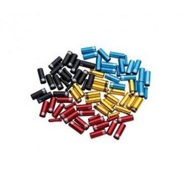 Комплект наконечников для рубашки Sram Ferrule Kit Aluminum, черный, 00.7115.010.010Тросики и Рубашки<br>Комплект наконечников для рубашки SRAM Ferrule Kit Blue<br><br>Комплект анодированных наконечников для тросов и рубашек тормоза и переключения. В комплекте 10 наконечников переключения для рубашки 4-5мм, 6 наконечников тормозных рубашек 5-6мм в диаметре и 4 наконечника троса.<br><br>Материал: алюминий<br>Цвет: черный<br>
