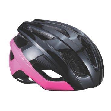 Велошлем BBB Kite, шоссе/МТБ, блестящий черный/неон/розовый, М (51-55 см), BHE-29Велошлемы<br>Если вы в поисках по-настоящему универсального шлема, то Kite - именно то, что нужно. Продуманная конструкция со съёмным козырьком предельно функциональна. Катаетесь ли вы по шоссе, или по трейлам - с Kite вы всегда в безопасности. Низкопрофильная конструкция обеспечивает дополнительную защиту наиболее уязвимых участков головы. Поликарбонатная оболочка обеспечивает наилучшую защиту. Основой для комфортной и, при этом, плотной посадки послужила легендарная hi-end модель Icarus. Kite - это наша лучшая разработка, одинаково хорошо подходящая как для шоссе, так и для MTB.<br><br>Особенности:<br><br>- Интегрированная конструкция.<br>- 14 вентиляционных отверстий.<br>- Отверстия для вентиляции в задней части шлема для оптимального распределения потоков воздуха.<br>- Сетка для защиты от залетающих в шлем насекомых.<br>- Настраиваемые ремешки для максимально комфортной посадки.<br>- Простая в использовании система настройки TwistClose.<br>- Съёмный козырёк со скрытым креплением.<br>- Съемные мягкие накладки с антибактериальными свойствами и возможностью стирки.<br>- Светоотражающие наклейки на задней части шлема.<br>