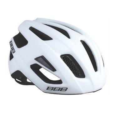 Велошлем BBB Kite, шоссе/МТБ, матово-белый, М (51-55 см), BHE-29Велошлемы<br>Если вы в поисках по-настоящему универсального шлема, то Kite - именно то, что нужно. Продуманная конструкция со съёмным козырьком предельно функциональна. Катаетесь ли вы по шоссе, или по трейлам - с Kite вы всегда в безопасности. Низкопрофильная конструкция обеспечивает дополнительную защиту наиболее уязвимых участков головы. Поликарбонатная оболочка обеспечивает наилучшую защиту. Основой для комфортной и, при этом, плотной посадки послужила легендарная hi-end модель Icarus. Kite - это наша лучшая разработка, одинаково хорошо подходящая как для шоссе, так и для MTB.<br><br>Особенности:<br><br>- Интегрированная конструкция.<br>- 14 вентиляционных отверстий.<br>- Отверстия для вентиляции в задней части шлема для оптимального распределения потоков воздуха.<br>- Сетка для защиты от залетающих в шлем насекомых.<br>- Настраиваемые ремешки для максимально комфортной посадки.<br>- Простая в использовании система настройки TwistClose.<br>- Съёмный козырёк со скрытым креплением.<br>- Съемные мягкие накладки с антибактериальными свойствами и возможностью стирки.<br>- Светоотражающие наклейки на задней части шлема.<br>