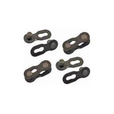Замок цепи SRAM PowerLock Black, 10 скоростей, 4 РСS, 85.2737.270.074Велосипедная цепь<br>Замок цепи SRAM PowerLock, черный, 10 скоростей, 4 РСS<br>