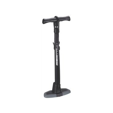 Насос велосипедный BBB AirEco, напольный, пластик, черный, BFP-11Велосипедный насос<br>Компактный напольный насос. Качает до 9 bar / 130 psi.<br><br>Манометр интегрирован в головку насоса, показывает давление в bar и psi - двойная шкала<br><br>Эргономичная ручка.<br><br>DualHead головка насоса с фиксатором.<br><br>Композитный корпус длиной 62 cм.<br><br>Композитное основание.<br><br>Отдельный входы под ниппели Presta/Dunlop и Schrader.<br>