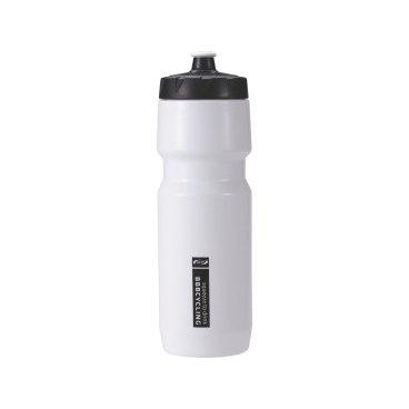 Фляга велосипедная BBB CompTank, 750 мл, широкое отверстие, белая/черная, BWB-05Фляги и Флягодержатели<br>Велофляга<br><br>-Не содержит вредных примесей-BPA free polypropylene <br>-Мягкий и удобный клапан с блокировкой поворотом<br>-Широкое отверстие для легкой чистки и наполнения<br>-Бутылка легко сжимается<br>-можно мыть в посудомоечной машине<br>-Объем: 750 мл<br>