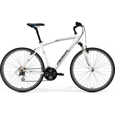 Кроссовый велосипед Merida Crossway 20-V Lady 2017Женские<br>Дорожный велосипед Merida Crossway 20-V-lady 2017. Установленны вилка SR NEX HLO 63, а также полупрофессиональное оборудование. Merida Crossway 20-V-lady 2017 станет прекрасным подарком для каждой поклонницы активного отдыха!<br><br>Рама и амортизаторы<br><br>РамаCrossway Speed-V-lady<br>ВилкаSR NEX HLO 63<br>Вес всего велосипеда<br>Цепная передача<br><br>МанеткиShimano EZ fire 8<br>Передний переключательShimano TY8s 48<br>Задний переключательShimano Acera-X 8<br>КареткаCartridge Bearing<br>КассетаSunrace CS8 11-32<br>Количество скоростей24<br>ЦепьChain 8s<br>ПедалиComfort double<br>Колеса<br><br>ОбодаMerida V<br>Спицыucp steel<br>ВтулкаOV alloy<br>ПокрышкаCross 700 40C<br>Компоненты<br><br>Передний тормозV-Brake Linear<br>Задний тормозV-Brake Linear<br>ГрипсыMERIDA kraton<br>РульMERIDA Comp 660 R25<br>Рулевая колонкаThread Conoid<br>СедлоCross lady<br>Подседельный штырьSuspension 27.2<br>РазработкаТайвань<br>ПроизводствоКНР (Тайвань)<br>