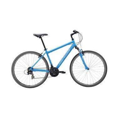 Кроссовый велосипед Merida Crossway 5-V Lady 2017Женские<br>дорожный велосипед Merida Crossway 5-V Lady 2017. Модель оснащена алюминиевой рамой. Установленны Пружинно-эластомерная вилка Merida CH-189 63, Ободные механические тормоза, а также начальное оборудование. Merida Crossway 5-V Lady 2017 станет прекрасным подарком для каждой поклонницы активного отдыха!<br><br>Рама и амортизаторы<br><br>РамаCROSSWAY DT LADY<br>ВилкаMerida CH-189 63<br>Цепная передача<br><br>МанеткиSRAM MRX 3/7<br>Задний переключательShimano Tourney RD-TY300D<br>ШатуныProwheel 48-38-28T<br>КареткаCartridge bearing<br>КассетаShimano TZ-21 14-28T 7sp<br>ЦепьKMC Z51<br>ПедалиPP pedal<br>Колеса<br><br>Диаметр28.0<br>ОбодаMerida double V<br>СпицыSteel UCP<br>ВтулкаOV Alloy QR<br>ПокрышкаMerida 700 40C<br>Компоненты<br><br>Передний тормозV-Brake Linear<br>Задний тормозV-Brake Linear<br>РульMerida Rise 660<br>ВыносAdjustable Quill stem<br>Рулевая колонкаQuill Headset<br>СедлоCross lady<br>Подседельный штырьMERIDA speed 27.2<br>РазработкаТайвань<br>ПроизводствоКНР (Тайвань)<br>