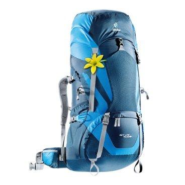 Велорюкзак Deuter ACT Lite 70+10 SL, для женщин, 86х36х38, 70+10 л, синий, 4340215_3980Велорюкзаки<br>Надежный вместительный рюкзак для путешествий и экспедиций: Совершенная подвеска с комфортной спинкой, прямой доступ в основное отделение – сочетание комфорта и функциональности. Благодаря подвижным набедренным крыльям Vari Flex, системе спинки Vari Quick и каркасу X-Frames, одна и та же система подвески подходит к любым грузам от средних до тяжёлых, оставаясь устойчивой, гибкой и эффективно распределяющей нагрузку. Система Aircontact с продуманной эргономичной системой подушек спинки очень хорошо сидит на спине и обеспечивает отличную вентиляцию со всех сторон. Модели SL разработаны специально для людей невысокого роста.<br><br>• экономия энергии и комфорт, благодаря анатомическому подвижному набедренному поясу Vari Flex, отслеживающему любое ваше движение<br>• компрессионные ремни на набедренных крыльях для точной регулировки положения груза<br>• поясная застёжка Pull-Forward легко регулируется даже под тяжёлым грузом<br>• прочный сотовый алюминиевый X-образный каркас передает нагрузку на набедренный пояс<br>• благодаря специальному покрою верхней части рюкзака и возможности регулировать положение верхнего клапана, обеспечивается свободное движение головы<br>• три боковых компрессионных ремня<br>• боковые карманы со складками, питьевая система» карман на молнии в набедренном поясе<br>• карман в верхнем клапане<br>• большой внутренний карман на молнии<br>• две цепочки петель daisy chain для навески снаряжения<br>• петли на верхнем клапане для крепления дополнительных грузов<br>• петля для ледоруба<br>• боковые карманы для стоек палатки<br>• двухслойное дно<br>• карманы на молнии для карт сбоку<br>• Объем: 70 + 10 л<br>