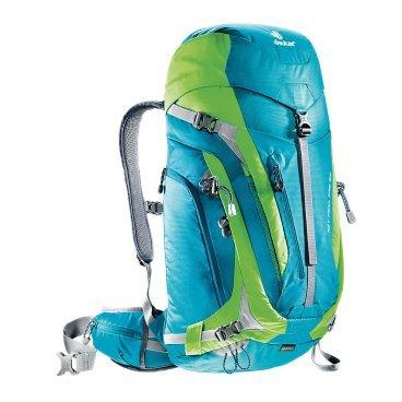 Велорюкзак Deuter ACT Trail 22 SL, для женщин, 56х24х18, 22 л, голубой, 3440015_3217Велорюкзаки<br>Обновленная модель серии универсальных рюкзаков ACT Trail. Лучший выбор для походов, маршрутов Via ferrata и экскурсий на природе.<br><br>Малый вес и высокое качество.<br><br>Удачное сочетание комфорта системы спинки и множества полезных деталей (например, съемный набедренный пояс).<br><br>складные сетчатые крылья пояса<br><br>гибкий U-образный каркас из DerlinR<br><br>спинка Aircontact Trail для полного контроля распределения нагрузки<br><br>лямки анатомической формы обшиты сетчатым материалом 3D AirMesh регулируются по длине<br><br>переднее отделение на молнии для карты и т.п.<br><br>2-ходовая молния на фронтальной части обеспечивает доступ к грузу при закрытом клапане<br><br>прочная, дышащая подкладка AirMesh<br><br>карман в клапане, внутренний карман для мелочей, карман на молнии и эластичный карман сбоку<br><br>отделение для влажной одежды<br><br>крепление для телескопических палок и ледоруба<br><br>петли для крепления шлема<br><br>SOS лейбл<br><br>съемный чехол от дождя<br><br>совместимость с питьевой системой (2л)<br>подходит для людей невысокого роста<br><br>Вес: 1040 г<br><br>Объем: 22л<br><br>Размеры: 56 х 24 х 18 см<br><br>Материал: 50: полиэстер, 50% нейлон. Deuter-Microrip-Nylon. Deuter-Super-Polytex.<br>