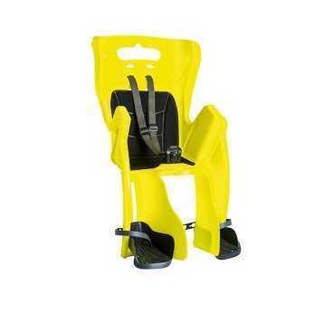 Сиденье детское TUV BELLEL.на багажник Little Duck (3) Hi-Viz,  до 7лет /22 кг, (Италия) 0-280235Детское велокресло<br>Сиденье детское BELLELLI  на багажник Little Duck (3) Hi-Viz, светоотр. до 7лет /22кг TUV BELLELLI (Италия).<br>Данная модель оснащена регулируемым по высоте ремешком безопасности со специальной застежкой, которую ребенок не может сам открыть.<br><br>Для комфортной транспортировки в верхней части спинки имеется ручка. В нижней части находится широкая защита для ножек со специальными подножками. Сиденье имеет мягкую накладку.<br><br>Легкая, высокопрочная конструкция выполнена из нетоксичного пластика. Ко всему, изделие имеет легко настраиваемую систему крепления к велосипеду. <br><br>Максимальная нагрузка, кг: 22<br>Материал сиденья: пластик<br><br>Для детей:  до 7 лет<br><br><br>Подходит к  велосипедам различных типов   26-28 дюймов.  Устанавливается на багажник, с рассчитанный грузоподъемностью до 25 килограмм  и шириной от 120 до 175 мм.<br><br>Сиденье оснащено:<br><br>- мягким сиденьем;<br><br>- регулируемыми по длинне и высоте ремнями безопасности с уникальнойи пряжкой, недоступной для открытия ребенку;<br><br>- регулируемыми по высоте подножками, оснащенными пристяжными ремешками;<br><br>- защитой ног от падания в спицы колеса;<br><br>- эргономической боковой защитой;<br><br><br>Велокресло имеет Международный сертификат качества TUV. Произведено в Италии.<br><br>Весь необходимый крепеж поставляется в комплекте с сиденьем.<br>