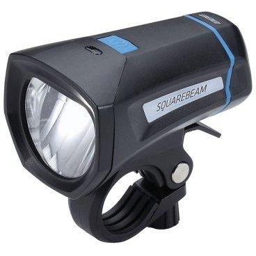 Фонарь передний BBB SquareBeam Stvzo, белый, светодиодный, 4х AAA, 2 режима, BLS-101KФары и фонари для велосипеда<br>Передний фонарь<br><br>-Яркий светодиод 1W<br>-Не слепит встречный поток<br>-Водонепроницаемый корпус с герметизированной завинчивающейся головкой<br>-Экономичное потребление энергии для долгой работы<br>-Обрезиненная кнопка включения под цвет хомута<br>-Простой в установке хомут TightFix подходит для рулей с любым диаметром (стандартный и оверсайз).<br>-2 режима: яркий и стандартный<br>-Питание от четырех элементов питания ААА (в комплекте)<br>-Вес: 88 гр<br>-Размер: 90х50х53 мм<br>