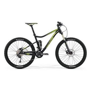Двухподвесный велосипед Merida One-Twenty 7.500 2017Двухподвесные<br>29 велосипед Merida One-Twenty 7.500 2017. Установленны вилка SR Aion RL-R 27 130 15QR remote, а также профессиональное оборудование. Merida One-Twenty 7.500 2017 прекрасно подойдёт для катания как в городе, так и по пересечённой местности.<br><br><br>Рама и амортизаторы<br><br>РамаOne-Twenty lite-D-single [27] R12<br>ВилкаSR Aion RL-R 27 130 15QR remote<br>Задний амортизаторSR Suntour Epicon Lorp<br>Цепная передача<br><br>МанеткиShimano Deore<br>Передний переключательShimano Deore double side swing<br>Задний переключательShimano Deore SGS Shadow+<br>КареткаCartridge Bearing<br>КассетаShimano CS-HG50-10 11-36<br>ЦепьKMC X10<br>ПедалиXC pro alloy<br>Колеса<br><br>ОбодаMerida Big 7 comp CC<br>СпицыBlack stainless<br>ВтулкаFoBearing disc 15<br>ПокрышкаMaxxis Forekaster 2.35 fold<br>Компоненты<br><br>Передний тормозTektro MA hydraulic 180<br>Задний тормозTektro MA hydraulic 180<br>ГрипсыMERIDA Screw on-Single<br>РульMERIDA Expert OS 740 R12<br>Рулевая колонкаBig Conoid semi neck<br>СедлоMerida Sport<br>Подседельный штырьMERIDA comp SB12 31.6<br>РазработкаТайвань<br>ПроизводствоКНР (Тайвань)<br>
