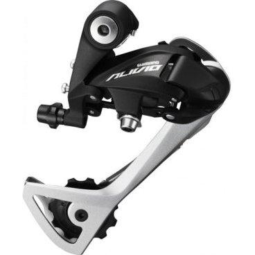 Переключатель задний SHIMANO Alivio T4000, SGS, 9 скоростей, черный, ERDT4000SGSLПереключатели скоростей на велосипед<br>Дизайн с более низким профилем, по сравнению с прошлыми моделями. Более длинная лапка позволяет использовать больше скоростей.<br>Характеристики:<br><br>    Скорость: 9 скоростей<br>    Общая вместимость: 45T<br>    Макс. размер звездочки: 28 - 34t<br>    Ролик: 11T<br>    Переднее переключение: 3<br>    Совместим с: RAPIDFIRE рычагами<br>    Вес: 273г<br>