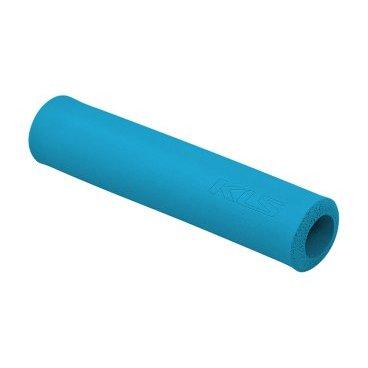 Грипсы KELLYS KLS SILICA, 130 мм, силикон, синийРучки и Рога<br>Мягкие велосипедные грипсы<br><br>Особенности<br><br>    эфективно поглощают вибрацию;<br>    легко встановлюются.<br><br>Характеристика:<br><br>    материал- силикон<br>    в комплекте пробки-заглушки;<br>    длина - 130 мм.<br>    Цвет: синий<br>