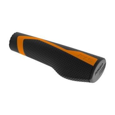 Грипсы KELLYS KLS TOKEN, 130/135 мм, кратон, оранжевыйРучки и Рога<br>Грипсы KELLYS KLS TOKEN, 130/135 мм, кратон, оранжевый<br>