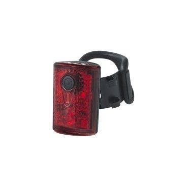 Фонарь задний KELLYS NIBIRU, 3 светодиода, регулировка фокуса, зарядка USB, аккумулятор в комплектеФары и фонари для велосипеда<br>Фонарь задний KELLYS NIBIRU, 3 светодиода, регулировка фокуса, зарядка от USB, аккумулятор в комплекте<br>
