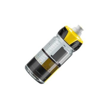 Фляга Elite Crystal Ombra, 0.55 л, желтый, EL0150125Фляги и Флягодержатели<br>Фляга Elite Crystal Ombra разработана для велогонщиков. Подходит для использования во время соревнований за счёт быстроты и удобства питья.<br><br>Изготовлена из пищевого пластика по технологии K-Resin®. Новая форма крышки с увеличенным отверстием способствует лучшей подаче жидкости и упрощает открытие ртом во время гонки. Предназначена для держателей с диаметром 74 мм.<br>Отличительные особенности<br><br>    Пищевой пластик по технологии K-Resin® с антибактериальными свойствами<br>    Мягкая бутылка позволяет давлением кисти увеличивать поток жидкости<br>    Новая форма крышки с увеличенным отверстием и легким открытием<br>    Широкое горло для удобства наполнения и мытья<br>    Стандартный диаметр 74 мм<br>