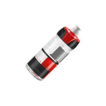 Фляга Elite Crystal Ombra, 0.55 л, красный, EL0150121Фляги и Флягодержатели<br>Фляга Elite Crystal Ombra разработана для велогонщиков. Подходит для использования во время соревнований за счёт быстроты и удобства питья.<br><br>Изготовлена из пищевого пластика по технологии K-Resin®. Новая форма крышки с увеличенным отверстием способствует лучшей подаче жидкости и упрощает открытие ртом во время гонки. Предназначена для держателей с диаметром 74 мм.<br>Отличительные особенности<br><br>    Пищевой пластик по технологии K-Resin® с антибактериальными свойствами<br>    Мягкая бутылка позволяет давлением кисти увеличивать поток жидкости<br>    Новая форма крышки с увеличенным отверстием и легким открытием<br>    Широкое горло для удобства наполнения и мытья<br>    Стандартный диаметр 74 мм<br>