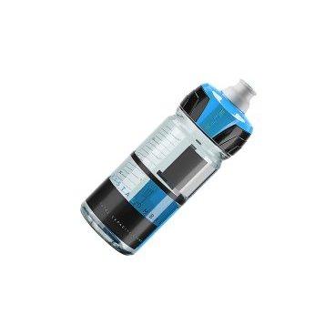 Фляга Elite Crystal Ombra, 0.55 л, синий, EL0150122Фляги и Флягодержатели<br>Фляга Elite Crystal Ombra разработана для велогонщиков. Подходит для использования во время соревнований за счёт быстроты и удобства питья.<br><br>Изготовлена из пищевого пластика по технологии K-Resin®. Новая форма крышки с увеличенным отверстием способствует лучшей подаче жидкости и упрощает открытие ртом во время гонки. Предназначена для держателей с диаметром 74 мм.<br>Отличительные особенности<br><br>    Пищевой пластик по технологии K-Resin® с антибактериальными свойствами<br>    Мягкая бутылка позволяет давлением кисти увеличивать поток жидкости<br>    Новая форма крышки с увеличенным отверстием и легким открытием<br>    Широкое горло для удобства наполнения и мытья<br>    Стандартный диаметр 74 мм<br>