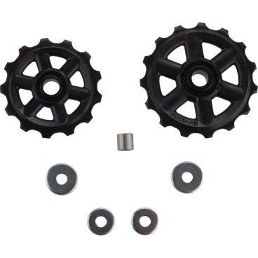 Ролик для велосипеда Shimano к RD-M310,  верхний+нижний Y5W898030Переключатели скоростей на велосипед<br>Запчасть к RD<br> Ролики заднего переключателя Shimano Altus RD-M310<br> Верхний + нижний <br> Производитель Shimano<br>