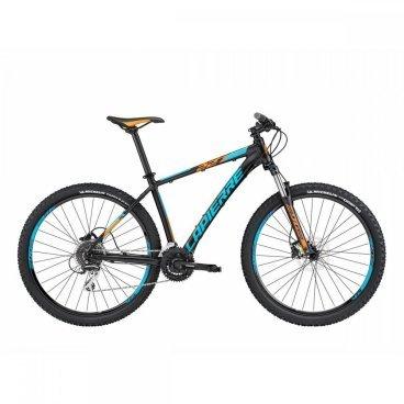 Горный велосипед Lapierre Edge 227 2017Горные (MTB)<br>Бюджетный, но стильный и надёжный велосипед от Lapierre. Такой байк отлично подойдёт как для ежедневного использования в городе, так и для выездов на природу и не слишком дальних путешествий. Рама данной модели изготовлена из фирменного алюминиевого сплава Supreme 4, а благодаря грамотному подбору компонентов велосипед мало весит и хорошо управляется. Если вы собрались купить свой первый горный велосипед, то лучшего выбора и не найти.<br><br><br>Амортизатор задний Нет<br>Амортизатор передний SUNTOUR SF15XCM-HLO-PM-27.5'' 100mm<br>Амортизация задняя НЕТ<br>Амортизация передняя ЕСТЬ<br><br>Втулки SHIMANO FHTX505<br>Вынос LAPIERRE EDGE AS-DC1<br>Год 2017<br>Каретка CH 127mm<br>Кассета SHIMANO HG31 11-34 8-Speed<br>Количество передач 24 SPEED<br>Назначение XC<br><br>Обода LAPIERRE DOUBLE WALL<br>Переключатель задний SHIMANO ACERA RD-M360 8 SPEED<br>Переключатель передний SHIMANO TOURNEY<br>Переключение система SHIMANO<br>Подседельный штырь LAPIERRE EDGE<br>Покрышки MICHELIN WILD GRIP'R<br>Пол Мужской<br>Производитель LAPIERRE<br>Размер колеса 27,5<br><br>Рулевая колонка FSA NO. 10 ZS 50<br>Руль LAPIERRE EDGE<br>Седло LAPIERRE EDGE<br>Тормоза SHIMANO HYDRAULIC ALTUS<br>Тормоза тип DISC<br>Цвет черный<br>Шатуны SHIMANO TY<br>Шифтер SHIMANO ALTUS SL-M310 3x8 SPEED<br>