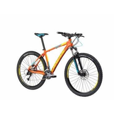 Горный велосипед Lapierre Edge 327 2017Горные (MTB)<br>Бюджетный, но стильный и надёжный велосипед от Lapierre. Такой байк отлично подойдёт как для ежедневного использования в городе, так и для выездов на природу и не слишком дальних путешествий. Рама данной модели изготовлена из фирменного алюминиевого сплава Supreme 4, а благодаря грамотному подбору компонентов велосипед мало весит и хорошо управляется. Если вы собрались купить свой первый горный велосипед, то лучшего выбора и не найти.<br><br>Амортизатор задний Нет<br>Амортизатор передний SUNTOUR SF15XCM-RL-PM-27.5'' 100mm<br>Амортизация задняя НЕТ<br>Амортизация передняя ЕСТЬ<br><br>Втулки SHIMANO FHTX505<br>Вынос LAPIERRE EDGE AS-DC1<br>Год 2017<br>Каретка CH 127mm<br>Кассета SHIMANO CSHG30 11-34 9-Speed<br>Количество передач 27 SPEED<br>Назначение XC<br><br>Обода LAPIERRE DOUBLE WALL<br>Переключатель задний SHIMANO DEORE<br>Переключатель передний SHIMANO ALIVIO<br>Переключение система SHIMANO<br>Подседельный штырь LAPIERRE EDGE<br>Покрышки MICHELIN WILD GRIP'R<br>Пол Мужской<br>Производитель LAPIERRE<br>Размер колеса 27,5<br>Размер рамы 53см<br>Рулевая колонка FSA NO. 10 ZS 50<br>Руль LAPIERRE EDGE<br>Седло LAPIERRE EDGE<br>Тормоза SHIMANO HYDRAULIC ALTUS<br>Тормоза тип DISC<br>Цвет оранжевый<br>Шатуны SHIMANO FCM3000<br>Шифтер SHIMANO ALTUS SL-M370 3x9 SPEED<br>