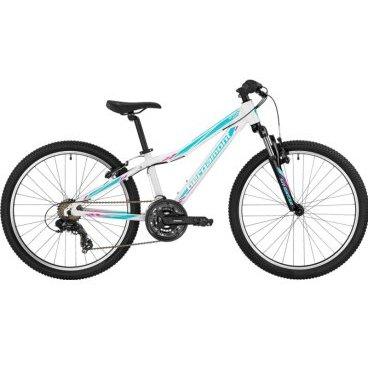 Подростковый велосипед Bergamont 24 Vitox Girl 2017Подростковые<br>Лёгкий и надёжный подростковый велосипед в классическом исполнении от Bergamont. Данная модель собрана на раме из авиационного алюминия, а основные её особенности – амортизационная вилка Zoom, 24-дюймовые колёса и высококачественное оборудование от Shimano. Продуманная геометрия, отличный дизайн и грамотный подбор компонентов – что ещё нужно для высококлассного велосипеда?<br><br><br><br>Амортизатор задний Нет<br>Амортизатор передний Suntour XCT Junior, 24, 50 mm<br>Амортизация задняя НЕТ<br>Амортизация передняя ЕСТЬ<br><br>Втулки BGM COMP 32H<br>Вынос BGM COMP 25.4<br>Год 2017<br>Каретка SEALED CARTRIDGE<br>Кассета Shimano MF-TZ21, 7-speed, 14-28t<br>Количество передач 21 SPEED<br>Назначение XC<br>Новинка Нет<br>Обода ALEX RIMS C1000<br>Педали Marwi SP-700<br>Переключатель задний Shimano RD-TY300<br>Переключатель передний Shimano FD-TY500<br>Переключение система SHIMANO<br>Подседельный штырь BGM COMP 26.8 mm<br>Покрышки Kenda K1166<br>Пол Подростковый<br>Производитель BERGAMONT<br>Размер колеса 24<br>Размер рамы 32см<br>Рулевая колонка BGM COMP<br>Руль BGM COMP прямой<br>Седло BGM Kids<br>Тормоза AVID V-brakes<br>Тормоза тип V BRAKE<br>Цвет белый<br>Шатуны Suntour XCC<br>Шифтер Shimano SL-RS36, 3x7-speed<br>